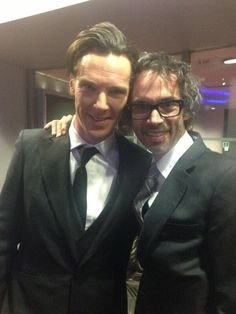 Epic bromance continues - James Rhodes ‏@James Barnes Rhodes 13h I've never been prouder. The dude absolutely bossed this film :) #intodarkness #benedictcumberbatch pic.twitter.com/daVnLvn3pU