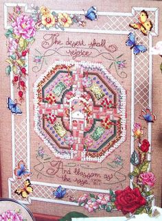 Картинки по запросу Gathering Honey Cross Stitch And