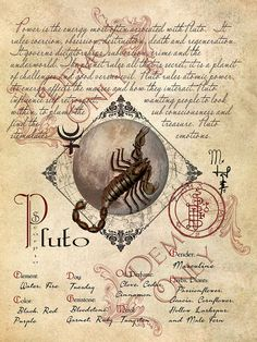 Cackling Cauldron ~ Pluto page
