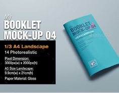 "Check out new work on my @Behance portfolio: ""myBooklet Mock-up 04"" http://be.net/gallery/47150331/myBooklet-Mock-up-04"