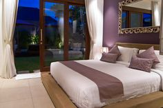 Chandra Bali Villas offer contemporary pool villas in Seminyak for families & friends. Our 2 and 3 bedroom villas offer privacy, space and great service. Contemporary, Outdoor Bed, Outdoor Bathrooms, Decor, Hotel, Villa, Indoor Outdoor Bathroom, Tropical Living, Home Decor