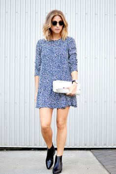 how to wear the 60's fall trend Vancouver Style Blog | The August Diaries