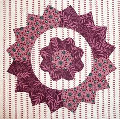 block from Afternoon Delight by Sue Garman: September 2012 (all 40 blocks are on Sue's blog entry)
