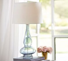 Choosing the best lamp for your home can be difficult since there is such a wide selection of lamps to pick from. Discover the most suitable living room lamp, bedroom lamp, table lamp or any other type for your selected space. Table Lamp Base, Lamp Bases, Pottery Barn Table, Large Lamps, Task Lamps, Bedroom Lamps, Master Bedroom, Bedroom Ideas, Bedside Lamp