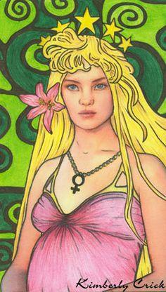 The Empress Tarot Card by enchanted