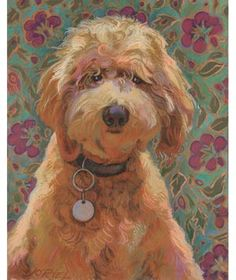 Goldendoodle? Custom Child and Pet Portraits|Looking to capture the character of a loved one in a professional work of art? Real Simple found picture-perfect options at every price.