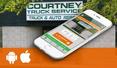 ASE Certified Truck Repair Shop- Courtney Truck Service, LLC providing high quality truck services  at 14205 West 62nd Street, Eden Prairie, MN 55346.  Call 952-934-0931