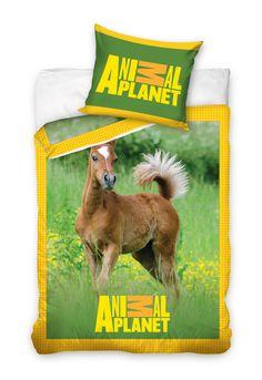 """Animal Planet """"Koń"""" pościel 160x200 - Animal Planet - www.tyle.com.pl"""