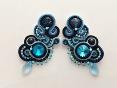 soutache earrings - Atelier Magia by Katarzyna Wysocka