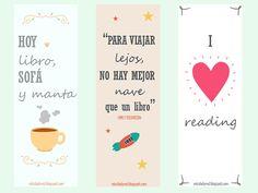 Miss Lady Red - Blog personal sobre ideas, pensamientos y curiosidades: Marcapáginas gratuitos para imprimir