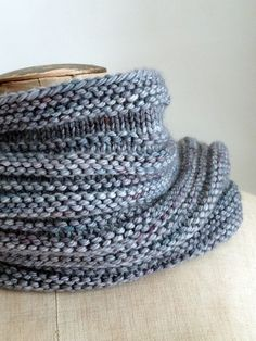Ravelry: Present pattern by Mademoiselle C. Beautiful! Great example of how knits and purls cab be used to create a lovely texture