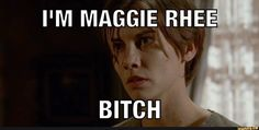 Maggie is in charge now