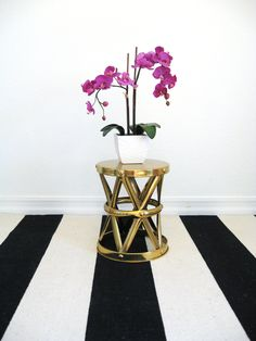 Moroccan Style X Drum Table