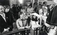 Il matrimonio di Mick e Bianca Jagger, 1971