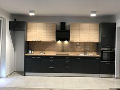 Loft Kitchen, Kitchen Room Design, Modern Kitchen Cabinets, Kitchen Cabinet Design, Ikea Kitchen, Modern Kitchen Design, Kitchen Layout, Interior Design Kitchen, Kitchen Furniture