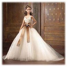 Barbie Designer Collection - Monique Lhuillier Bride Barbie Doll