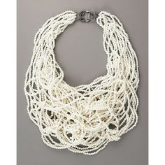 Vera Wang Necklace | shop jewelry necklaces vera wang multi strand pearl necklace $ 402 ...