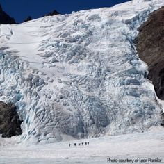Mt. Olympus. this will not be a walk in the park haha. little people, big glacier!