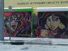 Wall Art at Windwood, Miami