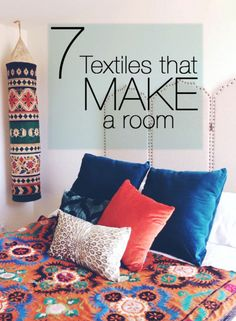 7 TEXTILES THAT INSTANTLY TRANSFORM A ROOM | eBay