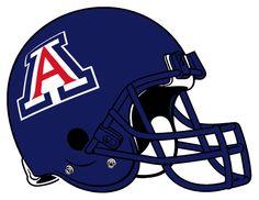 Arizona Wildcats Helmet Logo 2004