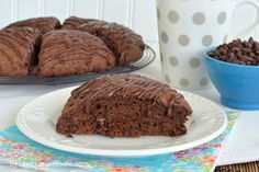 Triple Chocolate Scones. So good! Sometimes only chocolate will do :o)!
