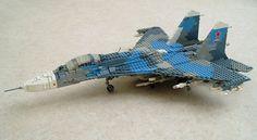 LEGO Su-27 Flanker