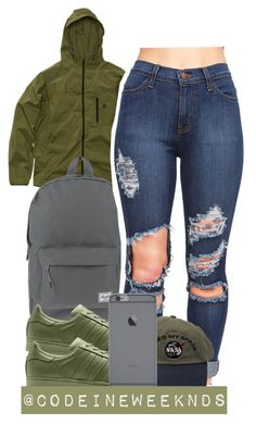 """11/16/15"" by codeineweeknds ❤ liked on Polyvore featuring Herschel Supply Co."