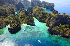 El Nido imunicipality and managed resource protected area in the province of Palawan in the Philippines.