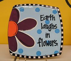 2011 Gare Fest Project - Earth Laughs in Flowers Plate.