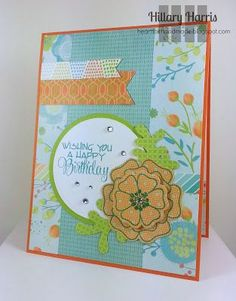 Birthday CTMH Blossom Card
