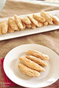 Surul Puri – Crispy, flaky sweet pastry!