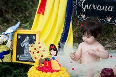 Smash the Cake Branca de Neve  Gabriela Pessoa Smash the Cake Snow White