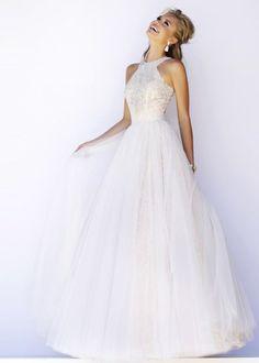 wedding dress halter top