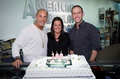 (Pictured above L-R: Hardcore Pawn's Les Gold, his daughter Ashley and his son Seth celebrate the episode of the hit truTV series. Les Gold, Time Warner, Wife And Kids, Best Tv Shows, The 100, Happy, American Jewelry, Siblings, Warehouse