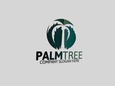Palm Tree Logo by Josuf Media on Creative Market