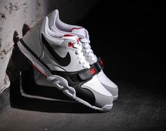 Nike Air Trainer 1 Low - White Black-Red 45b63041a