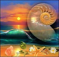 Lydia Anneli Bleth: BELLA DONNA digital artSehnsucht nach dem Meer......
