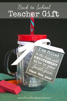 Back-to-School Ideas. I love teacher gifts... I wonder why???