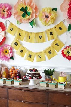 25 Ideas for a Farmer's Market Themed Party - Today Pin Birthday Bash, Birthday Parties, Themed Parties, Kendall Birthday, Birthday Ideas, Party Pops, Throw A Party, Childrens Party, Perfect Party