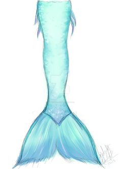 Mermaid Tail Design (sketch/idea) by Mermaid-Melly.deviantart.com on @DeviantArt