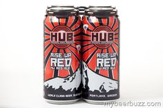 Hopworks Rise-Up Red Cans & Bottles Coming In Feb
