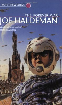 Published in 1974, Joe Haldeman's The Forever War about soldiers fighting alien invasion.