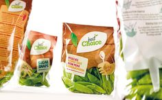 Best choice on Packaging of the World - Creative package design gallery Salad Packaging, Bottle Packaging, Food Packaging, Brand Packaging, Design Packaging, Product Packaging, Packaging Ideas, Eating Vegetables, Healthy Vegetables