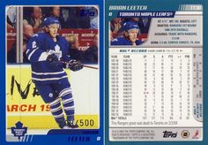 2003-04 Topps Traded Blue - Brian Leetch