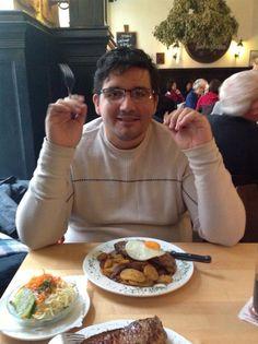 Almorzando en Alemania