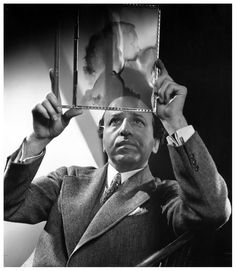 "Yousuf Karsh Self-Portrait, 1962. ""In 1926, I went to work for Uncle Nakash at his (photographic) studio, burying my original desire to study medicine. While at first I did not realize it, everything connected with the art of photography captivated my interest and energy - it was to be not only my livelihood but my continuing passion."""