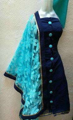 Are you searching for quality ladies Punjabi Suit and Elegant Designer ladies Punjabi Suit then Click VISIT link for more info Salwar Designs, New Kurti Designs, Kurta Designs Women, Chudidhar Designs, Shirt Designs, Neck Designs For Suits, Dress Neck Designs, Frock Design, Party Kleidung