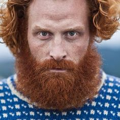 red bearded game of thrones