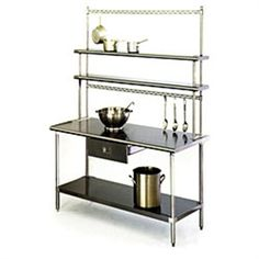"Eagle Work Table, 48"", Stainless steel Top #DallasRestaurantSupplies      #RestaurantWorkTables #KitchenEquipment"